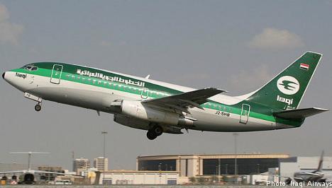 Iraqi Airways cancels Sweden flights
