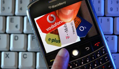 4G phone auction raises 'only' €4.4 billion