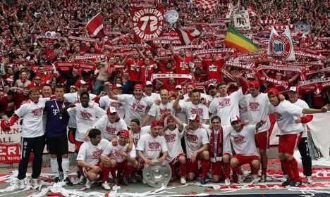 Bayern win league title