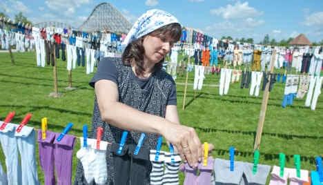 Amusement park in running for socks-on-line world record