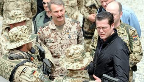 Greens moot scaling down German military