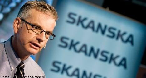Skanska profits boom in upbeat report