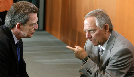 Berlin denies ailing Schäuble to step down