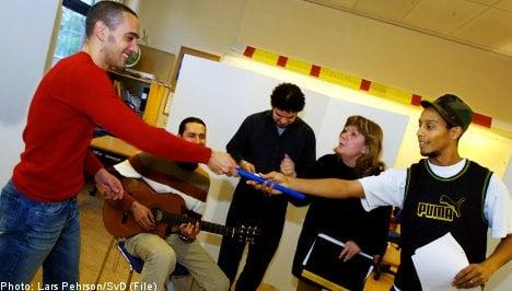Record enrollment for Swedish language classes