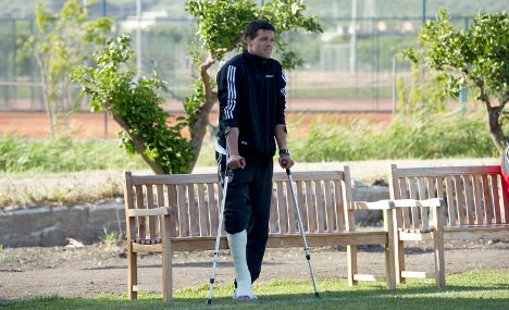 World Cup rivals will be tough, injured Ballack warns