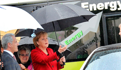 Germany jumpstarts electric car initiative