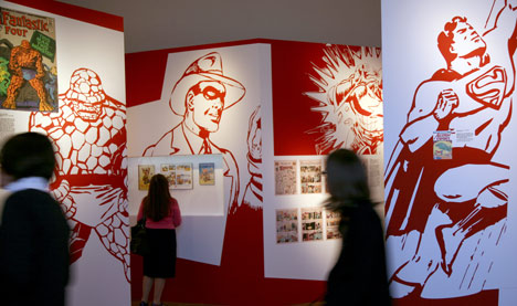Berlin exhibition explores Jewish roots of comics