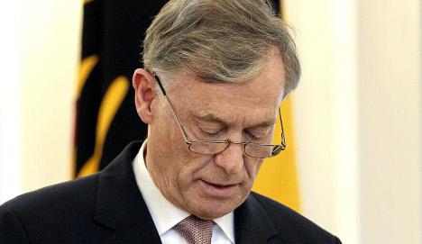 President Köhler resigns