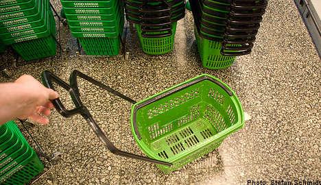 Shopping baskets flunk hygiene test