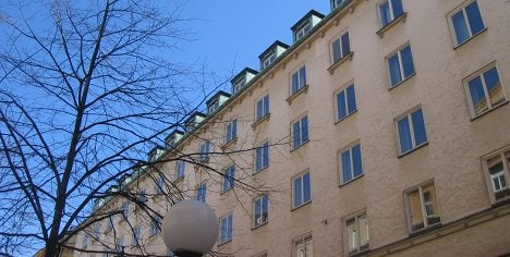 Apartment prices fall in Stockholm