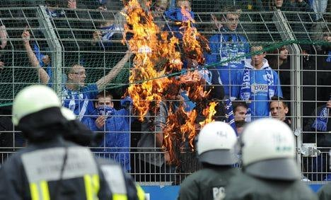 End-of-season football riots break out