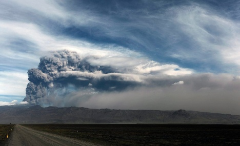 Germany spared volcanic ash cloud – for now
