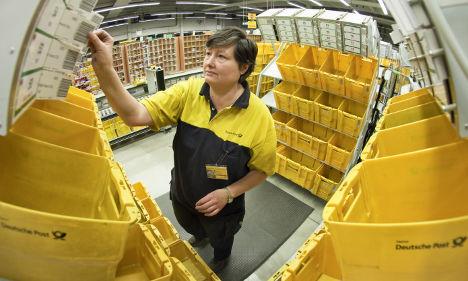 Deutsche Post Q1 profits surge