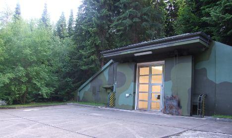 Bunkers trade NATO nukes for art