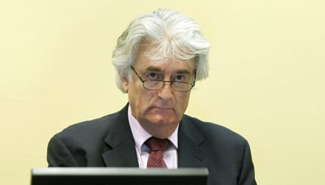 Karadzic: Germany withholding proof of Bosnian weapons trade