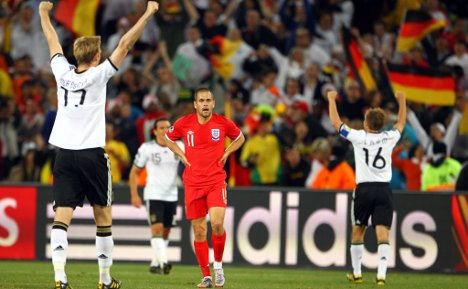 Germany bury England with 4-1 victory