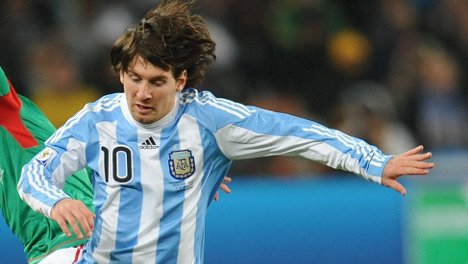 Germans eager to tame Argentina's Messi