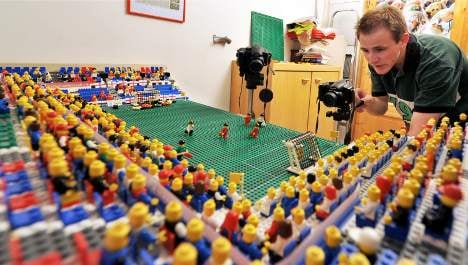 Teen scores World Cup glory with Lego films