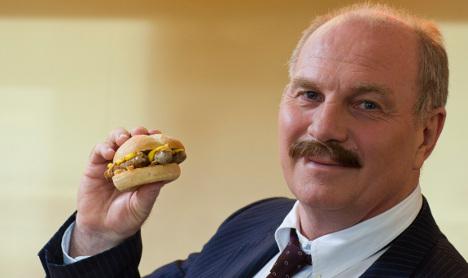 McDonald's to sell Hoeneß bratwurst burger
