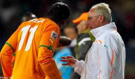 Eriksson rejects Brazilian fears over Drogba cast