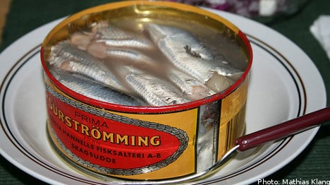 Sweden in plea to save stinky fermented herring