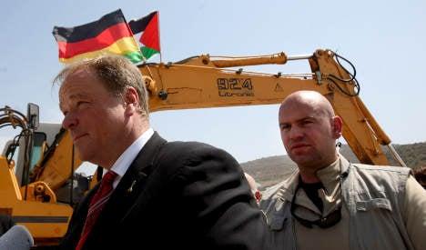 Israel blocks German minister's Gaza visit