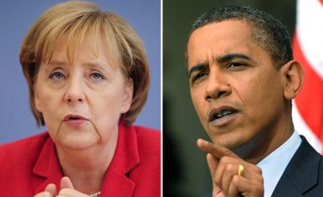 Merkel hits back at Obama fiscal criticism