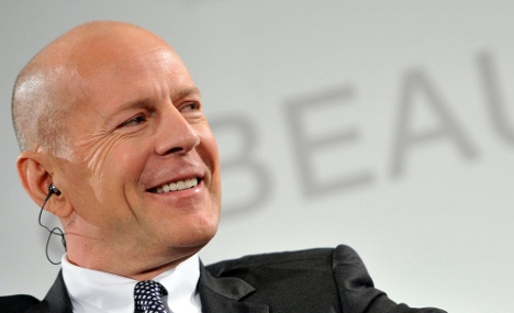 Steamy Bruce Willis shower sparks fire alarm in Frankfurt