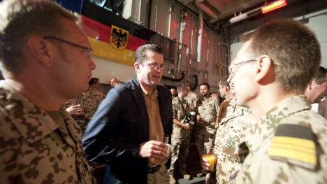 Guttenberg under fire for putting troops at risk