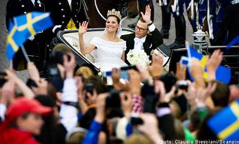 Police thrilled after 'fantastic' wedding day