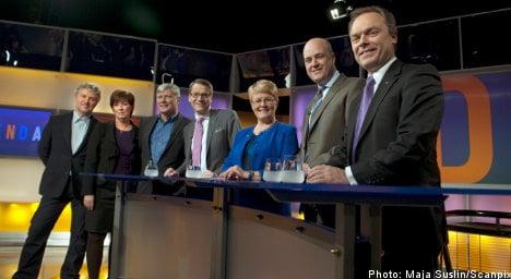 Party leaders slam opinion poll flood