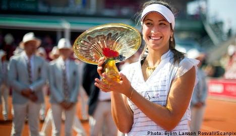 France's Rezaï wins WTA Båstad title over Dulko