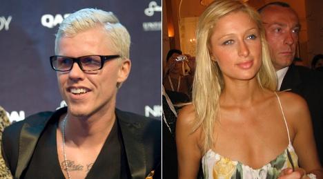 Swedish photographer sued by Paris Hilton
