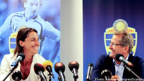 Ibrahimovic returns to Swedish national team