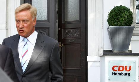 Hamburg Mayor Ole von Beust resigns