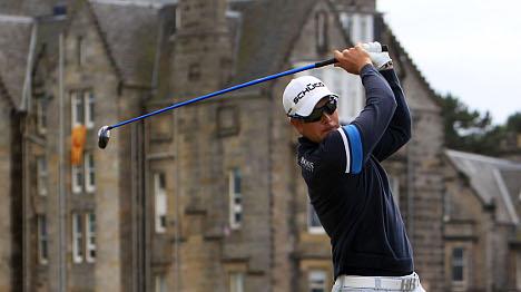 Eagle puts Stenson in British Open running