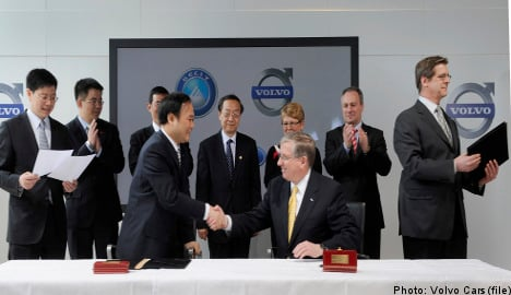 EU approves Geely Volvo purchase