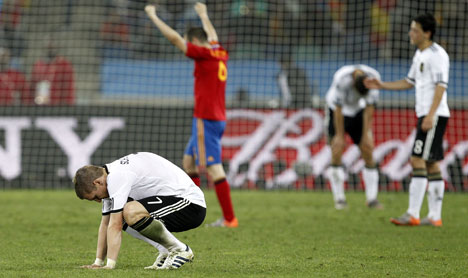 Spain end Germany's World Cup dream