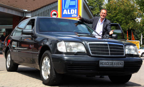 Late Aldi billionaire's armoured car up for sale