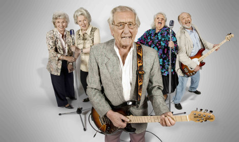 Pensioners' choir on a highway to hell-raising