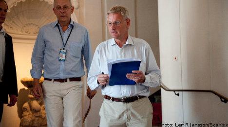 Bildt: No US-Sweden talks over WikiLeaks