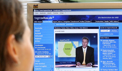 German broadcasters to set up free internet TV