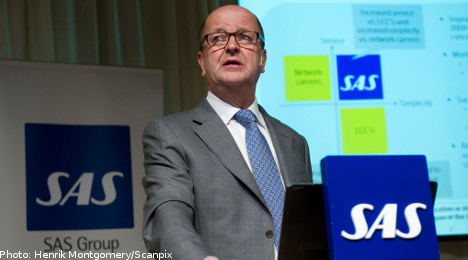 SAS CEO to step down