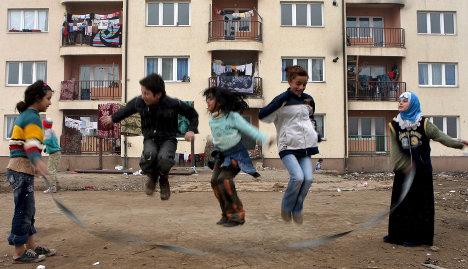 German-born Roma teens face tough new life
