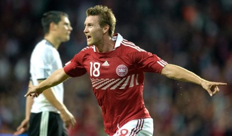 Danes force a draw in friendly match with Germany
