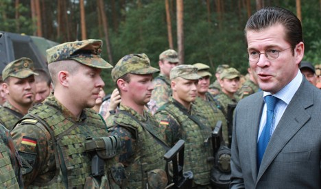 Majority of Germans want to end conscription