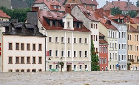 Saxony hit by floods
