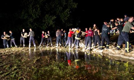 Brandenburg floods still at high warning level