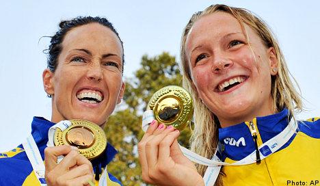 Sjöström claims European gold medal