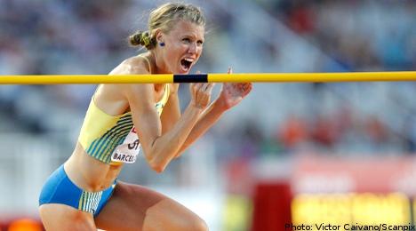 Green flies high to grab last gasp Swedish medal
